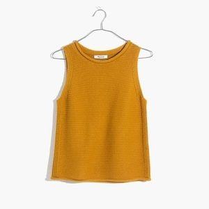 NWT Madewell Highbury Sweater Tank